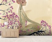 Mind of a meditator wall mural living room preview