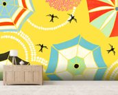 Italian Summer wall mural living room preview