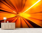 Wormhole wall mural living room preview
