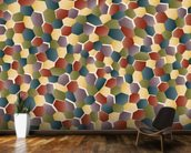 Broken Polygon wall mural kitchen preview