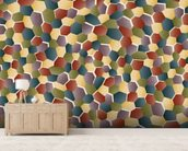 Broken Polygon wall mural living room preview