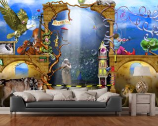 Dream On wall mural