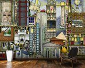 Our First World Tour wall mural kitchen preview