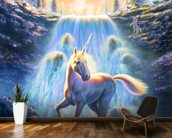 Unicorn Sunset wall mural kitchen preview