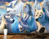 Spirit of the Mountain wall mural kitchen preview