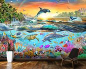 Tropical Paradise wall mural kitchen preview