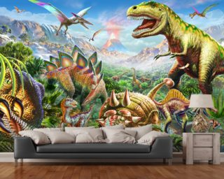 Dinosaur Wallpaper Wall Murals