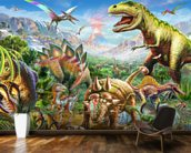 Dino Group wall mural kitchen preview