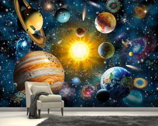 Our Solar System Wallpaper Wall Murals