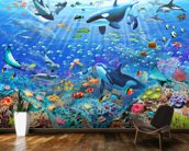 Underwater Scene wall mural kitchen preview