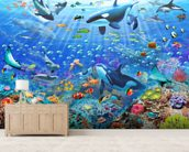 Underwater Scene wall mural living room preview