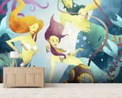 Deep Sea Diver wall mural living room preview