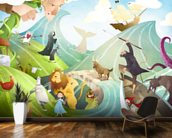Waves Of Imagination wallpaper mural kitchen preview