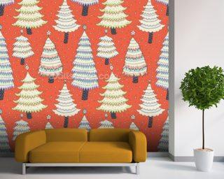 Winter Christmas Wallpaper Wall Murals Wallsauce USA