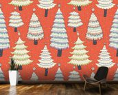 Christmas Tree Forest wall mural kitchen preview
