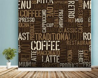 Abstract Coffee Wallpaper Wall Murals