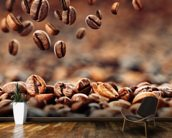 Coffee Beans mural wallpaper kitchen preview