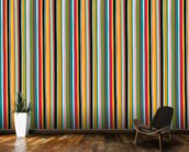 Coloured Lines wallpaper mural kitchen preview