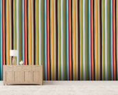 Coloured Lines wallpaper mural living room preview