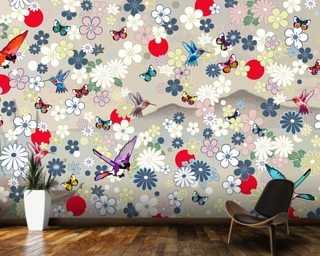 Kolibri Mural Wallpaper Wall Murals Wallpaper