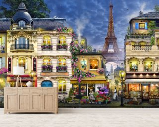 Paris Mural Wallpaper Wall Murals Wallpaper