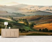 Italian Countryside wallpaper mural living room preview