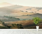 Italian Countryside wallpaper mural in-room view