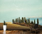 Tuscany Rural Landscape wall mural kitchen preview