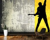 Rock Guitarist wall mural kitchen preview