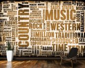 Country Music wallpaper mural kitchen preview