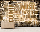 Country Music wallpaper mural living room preview