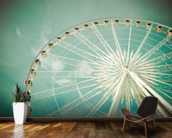Ferris Wheel wall mural kitchen preview