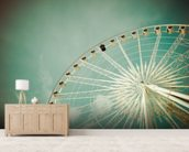 Fairground wallpaper mural living room preview