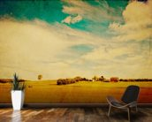 American Country wall mural kitchen preview