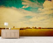 American Country wall mural living room preview