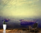 Grunge Seascape wallpaper mural kitchen preview