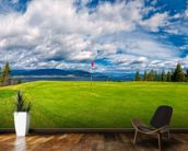 Golf Tee at Kelowna Lakeshore Road Okanagan Valley BC mural wallpaper kitchen preview