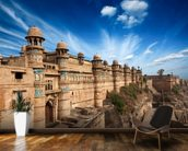 Gwalior Fort wallpaper mural kitchen preview