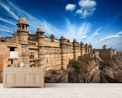 Gwalior Fort wallpaper mural living room preview