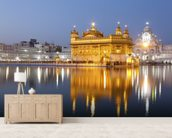 Golden Temple, Amritsar mural wallpaper living room preview