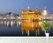 Golden Temple, Amritsar mural wallpaper in-room view