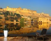 Jaipur Fort wall mural kitchen preview