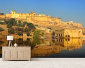 Jaipur Fort wall mural living room preview