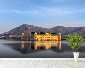 Water Palace, Jaipur wallpaper mural in-room view