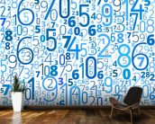 Numbers wall mural kitchen preview