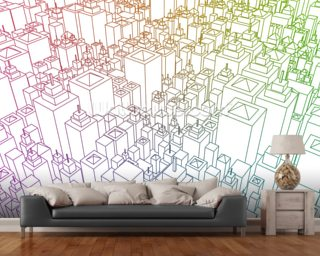 Property Market wallpaper mural
