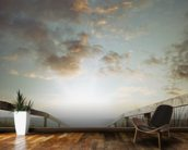 Atlantic Coast Beach Walkway wall mural kitchen preview