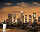 Los Angeles Skyline Sunset wall mural kitchen preview