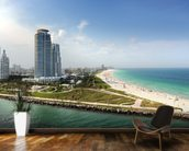 Miami Beach Florida wall mural kitchen preview