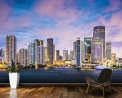 Miami Skyline, Florida wall mural kitchen preview